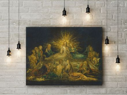 William Blake: The Last Supper. Religious Fine Art Canvas.
